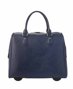 Find the Signature Rolling Tote in Navy on page 4 in the Fall & Winter 2014-2015 Stylebook!  www.myinitials-inc.com/mandyh