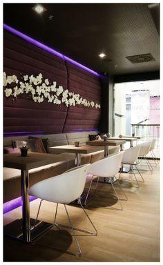 VIOLET Coffee Bar by Joseph Tucny, via Behance Portfolio Design, Joseph, Conference Room, Designers, Behance, Bar, Coffee, Table, Furniture
