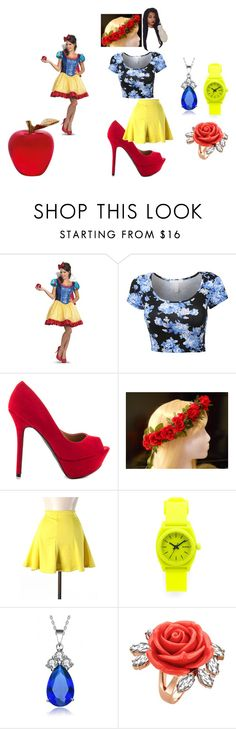 """SNOW WHITE"" by takalyn-fowler on Polyvore featuring Qupid, Hype, Nixon, Collette Z, Mawi and Daum"