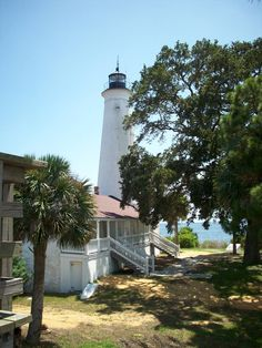St. Marks Lighthouse, on the Gulf Coast