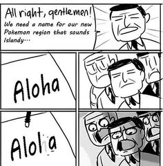 So that's how they came up with the name!  #alola #pokemon #sunandmoon