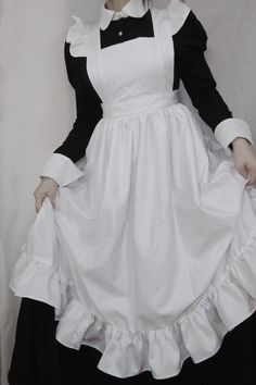 Kawaii Fashion, Lolita Fashion, Look Fashion, Fashion Outfits, Maid Cosplay, Cosplay Outfits, Casual Cosplay, Steampunk Lolita, Pretty Outfits
