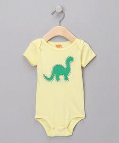 baby boy dino onesie