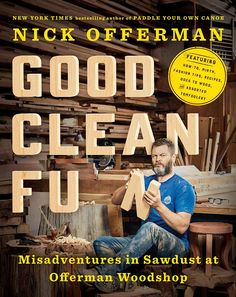 Nick Offerman's third book, Good Clean Fun, is all about his love for woodworking, and EW has an exclusive excerpt of Offerman reading from the audiobook.