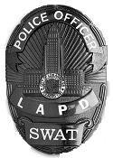 LAPD SWAT badge