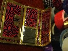 Duct Tape City: Duct tape wallet