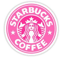 Pink Starbucks Sticker