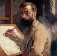 Frantisek Kupka, Self-portrait, 1905