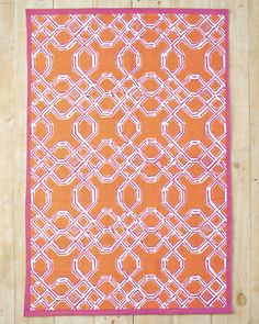 Step Up Your Style And Fun With A Brightly Colored Lilly Pulitzer Rug Woven In Pure Cotton To Resemble The Garden Glam Lines Of Trellis