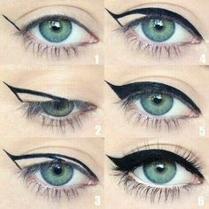 Easy way to out your eyeliner right