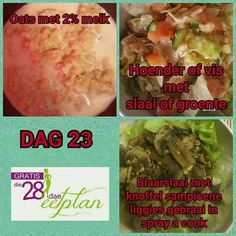 dag 23 Diet Recipes, Cooking Recipes, Healthy Recipes, Recipies, Diet Meals, 28 Dae Dieet, Dieet Plan, 28 Day Challenge, Dash Diet
