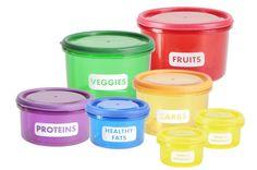 15-Piece Food Storage Container Set