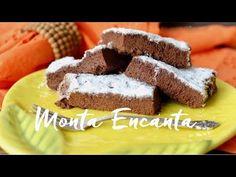 Bolo Nuvem de Chocolate, sem farinha! - Monta Encanta