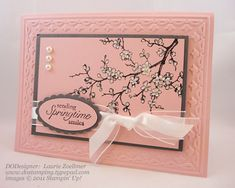 easter blossoms stampin up - Google Search
