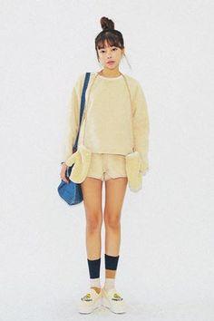 Fluffy Wool Shorts