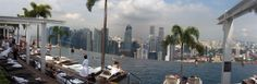 Head up to the Marina Bay Sands Skypark for a great view of Singapore from up high. Day tours are available for $20. Better still, head up to the bar (Ku De Ta) for an evening view after dusk - and relax with an adult beverage.