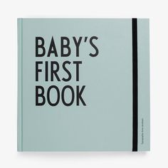 Letters Design Baby's First Book Arne Jacobsen / Blue