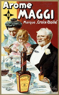 Maggi Vintage Ad ……re pinned by Maurie Daboux ♪ ♪
