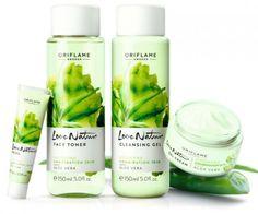 Linea completa Love Nature Aloe Vera, para pieles normales a mixtas, obten piel radiante e hidratada en todo momento!