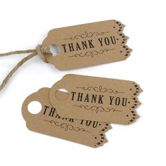 Vintage - Favor Tags - Kraft > Favors | Carlson Craft Wedding & Stationery Products | NORTH MANKATO, MN