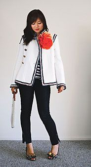 How to wear your Chanel jacket.. although, I might need said jacket first :)