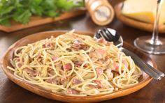 Spaghetti al guanciale