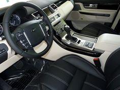 2013 Range Rover Sport Interior-Ebony/Ivory #LandRoverPalmBeach #LandRover #RangeRover http://www.landroverpalmbeach.com/