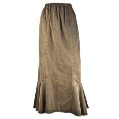 Khaki tencel skirt Skirts, Shopping, Collection, Design, Women, Polyvore, Products, Fashion, Moda