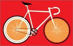 Red Racer Print, Ian Bilbey