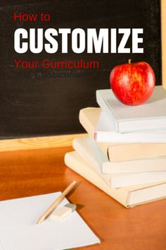 How to customize your curriculum. Make your homeschool  program work for your family!