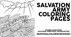 Salvation Army Coloring Pages