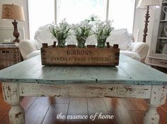 The Essence of Home: Coffee Table Makeover