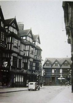 Ireland's Mansion and Lloyds Bank, Shrewsbury, Shropshire Shrewsbury Shropshire, English Village, Medieval Town, Old Buildings, Photographs, Photos, Britain, Beautiful Places, England