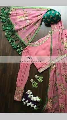 saree lovers – bestlooks Visit the post for more. Choli Blouse Design, Saree Blouse Neck Designs, Fancy Blouse Designs, Saree Blouse Patterns, Designer Blouse Patterns, Designer Saree Blouses, Lehenga Blouse, Skirt Patterns, Coat Patterns