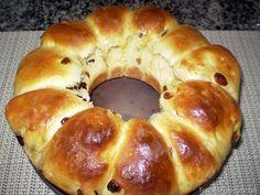 Pão Tipo Rosca de Leite Condensado - Teretetê na Cozinha