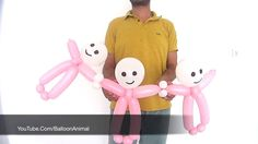 Baby shower balloons - Balloon baby tutorial #baby #shower #balloon #balloons #babyshower #balloontwisting #balloonart #balloonanimals