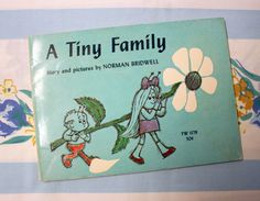 A Tiny Family, 1970s Scholastic book by Norman Bridwell