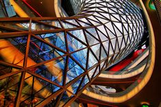 MyZeil Shopping Center in Frankfurt by Ted Dobosz, via Flickr