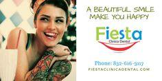 Tu salud dental en nuestras manos, con la mejor tecnología. fiestaclinicadental.com Beautiful, T Shirt, Women, Fashion, Dental Health, Hands, Party, Supreme T Shirt, Moda