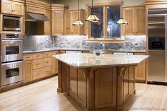 #Kitchen Idea of the Day: Craftsman Kitchens.