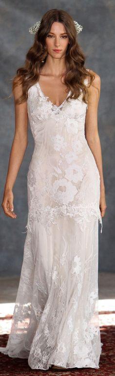 Gardenia lace wedding dress from Romantique by Claire Pettibone  https://romantique.clairepettibone.com/collections/bohemian-rhapsody-boho-wedding-dresses/products/gardenia