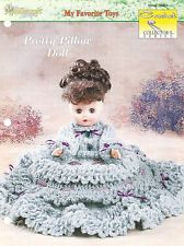 Pretty Pillow Doll, Crochet Collector's pattern