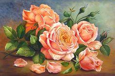 """Схема вышивки «""""как хороши,как свежи были розы...""""» - Вышивка крестом"""