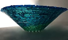 Fused Bowl by Linda Indalecio @ LJ Glass Designs