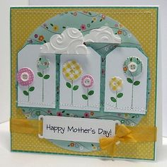 Card Crafts From Pinterest | Beth-A-Palooza: Pinterest Inspired Mother's Day Card