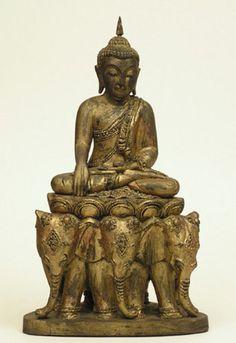 Shan Buddha on Elephant Throne