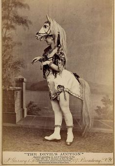 The Charles McClaghy Collection has released this intriguing selection of images of female exotic dancers from the 1890s, which shows just how different ou