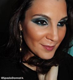Arabic Green Makeup