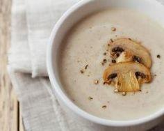 Velouté de champignons à la Vache qui rit (facile, rapide) - Une recette CuisineAZ