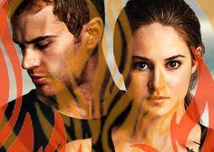 D is for Dauntless ~Divergent~ ~Insurgent~ ~Allegiant~    #divergent #dauntless #four #tris #fourtris #insurgent #allegiant #six #candor #abnegation #erudite #amity #factions #movie #book  #tobias #brave #caleb #stills